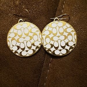 Coach costume earrings
